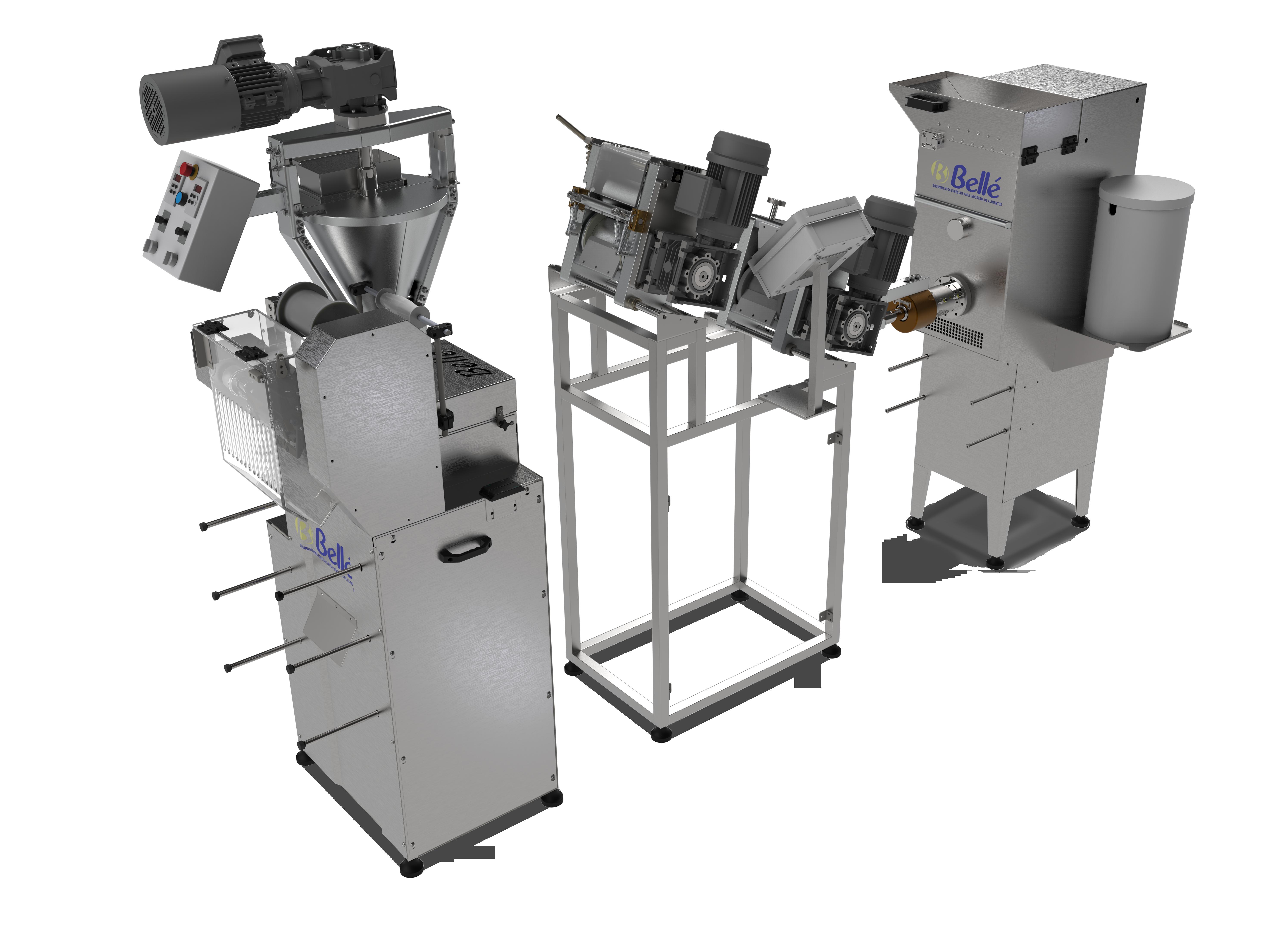 Máquina Automática para Fabricação de Capeletti
